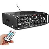 億騰 HiFiパワーホームアンプ Bluetoothオーディオサウンドアンプ デジタルアンプ オーディオアンプ カラオケ…