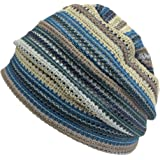 Casualbox Charm Men Summer Beanie Knit - Women Hipster Slouchy Hat Boho Street Fashion Cap