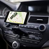 Qgeen Universal 360-Degree Rotation CD Slot Car Cell Phone Mount Holder Cradle for iPhone X 8 Plus Samsung Galaxy S9 + Note 9