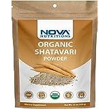Nova Nutritions Certified Organic Shatavari Powder 16 OZ (454 gm)