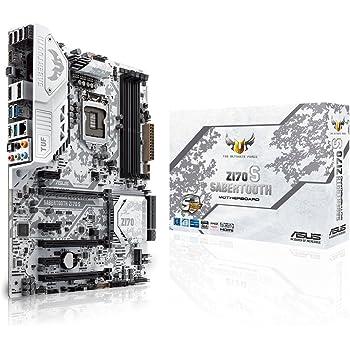 ASUSTeK Intel Z170搭載 マザーボード LGA1151対応 SABERTOOTH/Z170/S 【ATX】