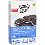 Simply Wize Gluten Free Choc 'O Biscuits, 250 g