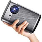 XGIMI Halo Smart Mini Projector, 1080P FHD 800 ANSI Lumen Portable Projector, Android TV 9.0, Support 2K/4K, Portable WiFi/Bl