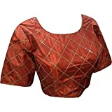 Readymade Saree Stitched Blouses Women's Party Wear Indian Style Saree Blouse wedding Short Sleeve