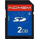 INDMEM SDカード 2GB Class4 SLC メモリカード カメラカード フラッシュメモリカード