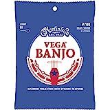 Martin Vega Nickel Wound V700 Banjo Strings Light Gauge - Pack of 1