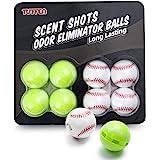 Deodorizer Balls for Sneaker, Shoe Odor Eliminator, Odor Eaters for Shoes, Laundry Odor Eliminator, for Gym Bag, Locker, Draw