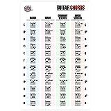 Guitar Laminated Chord Reference Sheet