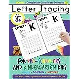 Letter Tracing For Pre-Schoolers and Kindergarten Kids: Alphabet Handwriting Practice for Kids 3 - 5 to Practice Pen Control,