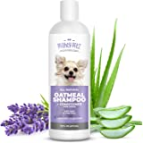 2-in-1 Oatmeal Dog Shampoo and Conditioner – All Natural Relief for Itchy, Dry, Sensitive Skin with Soothing Aloe Vera + Baki
