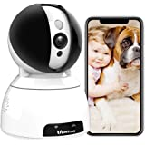 Security Camera,Vimtag Wireless Home Security Camera 1080P Pan/Tilt/Zoom WiFi Home Indoor Smart Camera for Baby/Pet Motion De