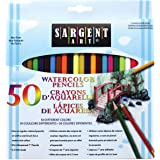 Sargent Art 22-7273 50 Watercolor Pencils Set