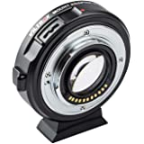 VILTROX EF-M2II Focal Reducer Booster Adapter Auto-Focus 0.71x for Canon EF Mount Series Lens to M43 Camera GH4 GH5 GF6 GF1 G