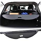 【Upgrade Version】 E-cowlboy Black Retractable Rear Trunk Cargo Luggage Security Shade Cover Shield for Ford Escape 2013 2014