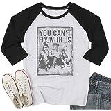 SFHFY Sanderson Sisters T Shirt Women Funny Halloween Raglan Tee Shirt 3/4 Sleeve Fall Tops Blouse