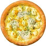 冷凍ピザ 6種の贅沢チーズピザ(マリボーチーズ、ゴーダチーズ、ゴルゴンゾーラ、モッツァレラ、グラナパダーノ) ライ麦全粒粉ブレンド生地・直径約20cm