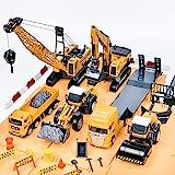建設車両 セット エンジニアリング 車おもちゃ はたらく車 工事カー 作業車両 ショベルカー ロードローラー ダンプカー…