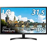 LG モニター ディスプレイ 32MN600P-B 31.5インチ/フルHD/IPS/HDMI、DisplayPort/FreeSync/フリッカーセーフ、ブルーライト低減機能