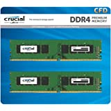 CFD販売 デスクトップPC用メモリ PC4-19200(DDR4-2400) 4GB×2枚 / 288pin / 無期限保証 / Crucial by Micron / W4U2400CM-4G