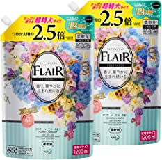 【まとめ買い】フレアフレグランス フラワー&ハーモニーの香り 詰替用 1200ml×2個