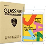 [2 Pack] ProCase iPad 10.2 8th Gen 2020 / 7th Generation 2019 Screen Protector, Tempered Glass Screen Film Guard Screen Prote
