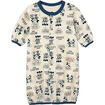0eb47ab54a845  ベルメゾン  ディズニー 長袖 ツーウェイオール ミッキー&ミニー(吹き出し) サイズ:50~60