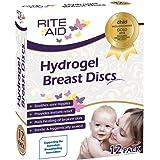 Rite Aid Hydrogel Breast Discs (x12) - Helps Heal Cracked Sore Nipples by Rite Aid
