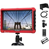 Lilliput A7S 7 inch + Battery+Dual Charger+Cable Supports 4K HDMI Input Loop Output 1920x1200 IPS Screen On Camera Field Moni