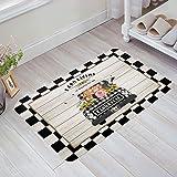 Doormat Indoor Entrance Farm Sweet Farm Non Slip Front Doormat Area Rugs for Bathroom/Kitchen Floor Mat Carpet Shoes Scraper