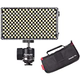 Aputure AL-F7, Aputure H198 Upgrade Ver 256 LED Bi-Color Dimmable Led Video Light, CRI95+ TLCI95+, 3200-9500K Adjustable, Ste