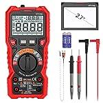 INTENDVISION Advanced Digital Multimeter TRMS 6000 Counts Tester Non Contact Voltage Detection Amp Ohm Volt Multi Meter...