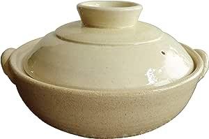 団段土鍋 (9号, 生成)