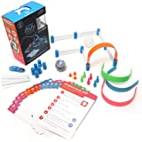 Sphero M001RW2 Mini Activity Kit: App-Controlled Robotic Ball and 55 Piece STEM Learning Construction Set, Play, Learn, Code,