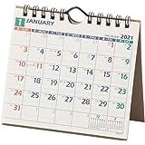 能率 NOLTY 2021年 カレンダー 卓上 24 A6変型 C227