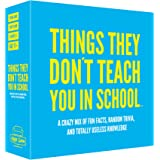 Hygge Games 21019 Things They Don't Teach You in School Party Trivia Game, Blue
