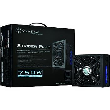SilverStone 【HASWELL対応】 STRIDER PLUS SILVER 電源 750W SST-ST75F-P