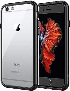 JEDirect iPhone6 iPhone6s ケース バンパー 衝撃吸収 傷つけ防止 (ブラック)