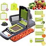 Vegetable Chopper,BRITOR Mandoline Slicer Cutter Chopper and Grater 10 in 1 Vegetable Slicer Potato Onion Chopper Veggie Chop