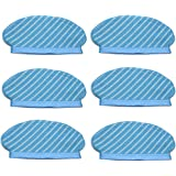 SODIAL 6Pcs Mop Cloth Pads Set for Deebot Ozmo 920 950 Vacuum Cleaner Parts Replacement Home ccessories