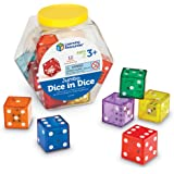Learning Resources LER7699 Jumbo Dice Inches 1-1/4 L x 1-1/4 W in