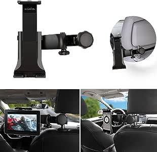 Wietus 自動車iPadスタンド360度回転可能 後部座席用ヘッドレスト 適合タブレットコンピュータ、Galaxy Tab, Note,ebook,Samsung Galaxy,Motorola Xoom, iphone, LGと3.5~10インチ間の設備とタブレットコンピュータ