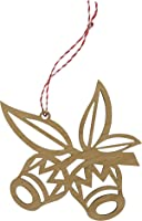 Biodegradable & Sustainable Bamboo Christmas Decoration | 1 x Gumnuts | Australian Made Tree Ornament