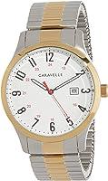 CARAVELLE Men's 45B147 Analog Quartz Multicolour Watch