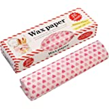 50 Sheets Wax Paper Food Picnic Paper Disposable Food Wrapping Greaseproof Paper Food Paper Liners Wrapping Tissue for Plasti