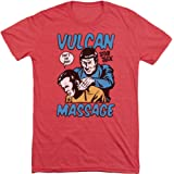 Trevco Star Trek Massage Mens Short Sleeve Shirt