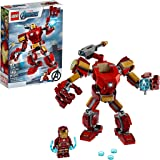 LEGO Marvel Avengers Iron Man Mech 76140 Kids' Superhero Mech Figure, Building Toy with Iron Man Mech and Minifigure, New 202