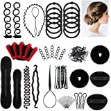 Winkeyes Hair Styling Set, Hair Design Styling Tools Accessories DIY Hair Accessories Hair Modelling Tool Kit Hairdresser Kit
