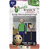 "Baldi's Basics 5"" Action Figure (Angry Baldi), Multicolour"