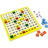 Learning Resources LER1331 Plastic Hundreds Board 12 L x 12 W in