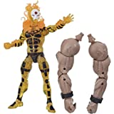 Marvel Classic E91695X0 Hasbro Legends Series 6-inch Collectible Sunfire Action Figure Toy X-Men: Age of Apocalypse Collectio